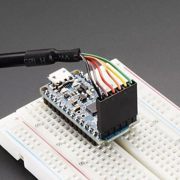 Программируеммый модуль без пайки Adafruit Pro Trinket 3V 12MHz
