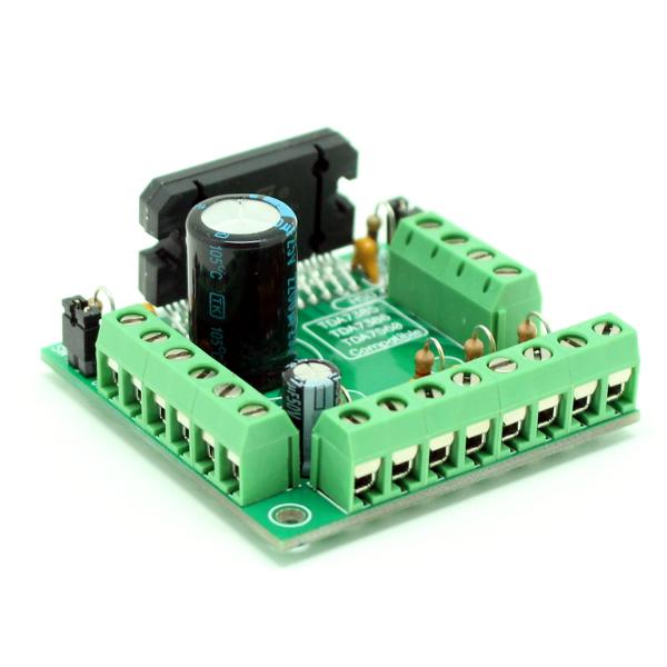Усилитель НЧ 4х40 Вт (TDA7386 авто, готовый блок)