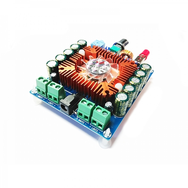 Усилитель НЧ 4х80 Вт (TDA7850)