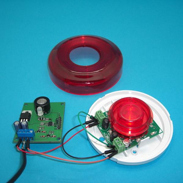 Автономное использование датчика со стандартным охранно-пожарным оповещателем АСТРА-10