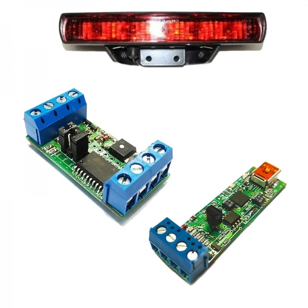 Универсальный адаптер K-L-линии + Устройство управления стоп-сигналами автомобиля