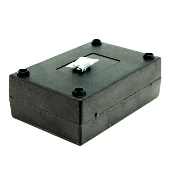 Корпус пластиковый (черный) 120х80х40