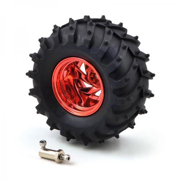 Комплект из 4-х колес диаметром 120 мм для роботов