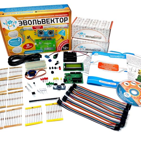 Конструктор «Программируемые контроллеры Arduino». Основной набор. Уровень №2