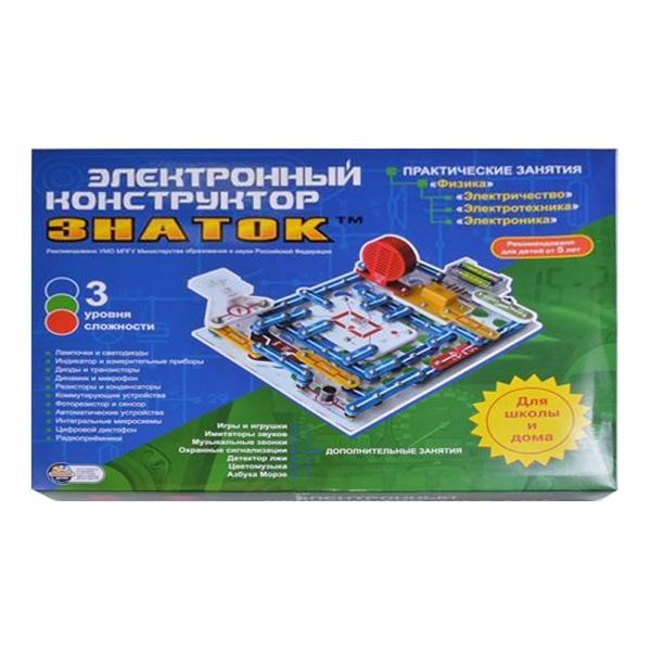 Электронный конструктор Знаток «999 схем+Школа»