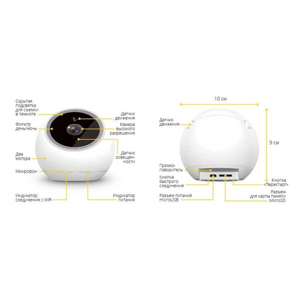 Бизнес-камера iCam PRO FHD (черная)