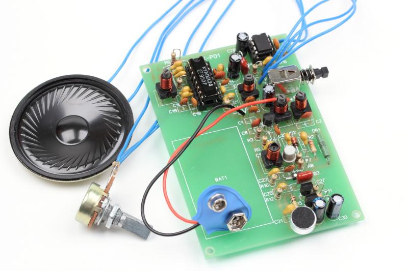 Набор для сборки портативной радиостанции 27МГц поступил в продажу!