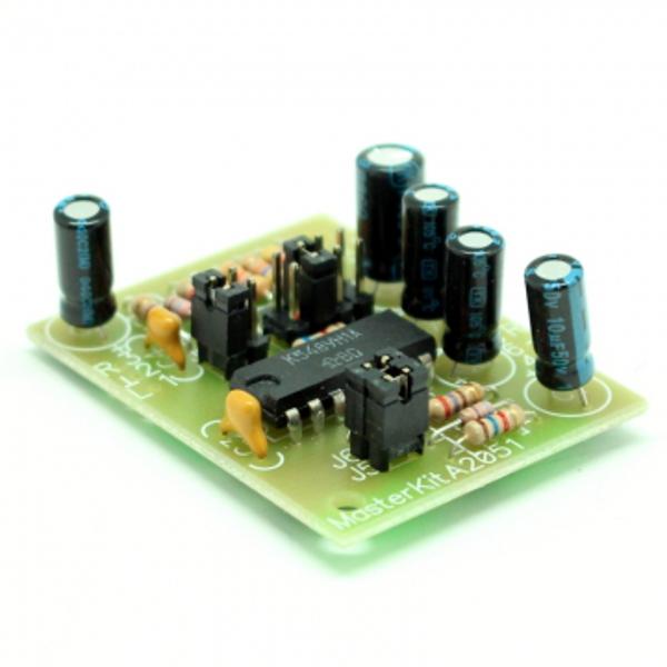 Двухканальный микрофонный усилитель (К548УН1)