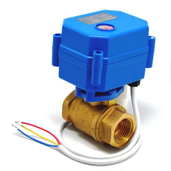 запорный клапан с электро