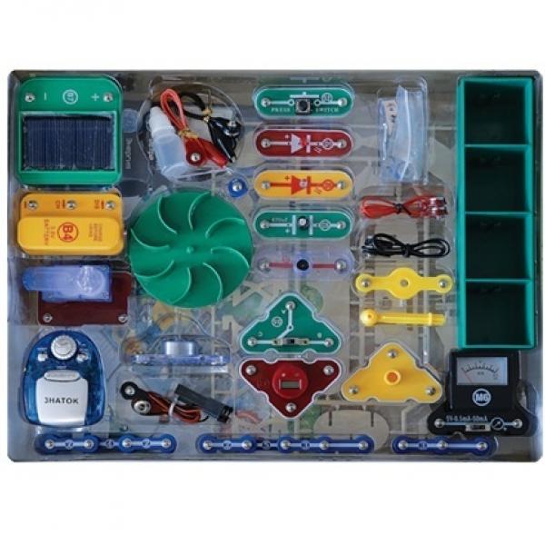 Электронный конструктор Знаток Альтернативные источники энергии