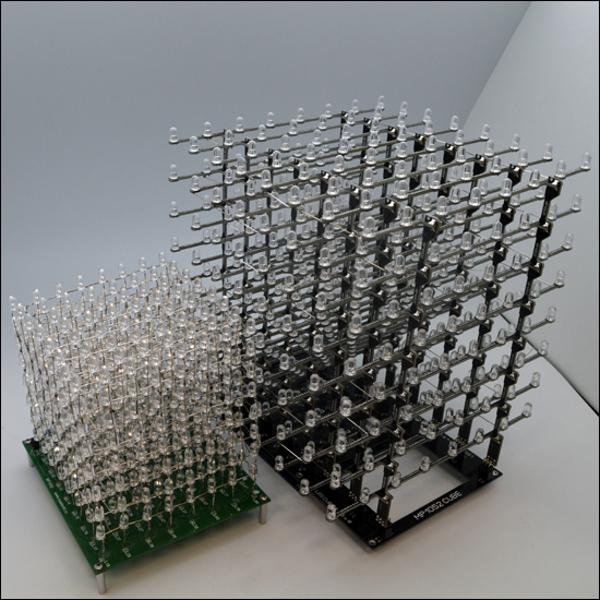 Каркас для простой самостоятельной сборки светодиодного куба 8х8х8