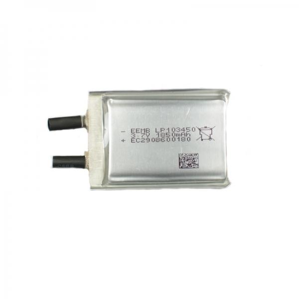 Аккумулятор Li-Pol 3.7В 1800 мА (в призматическом корпусе)