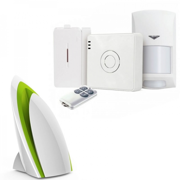 Wi-Fi система охраны + Wi-Fi станция контроля качества воздуха