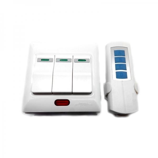 Беспроводной комплект управления освещением диапазона 433 МГц (3 канала по 600 Вт)
