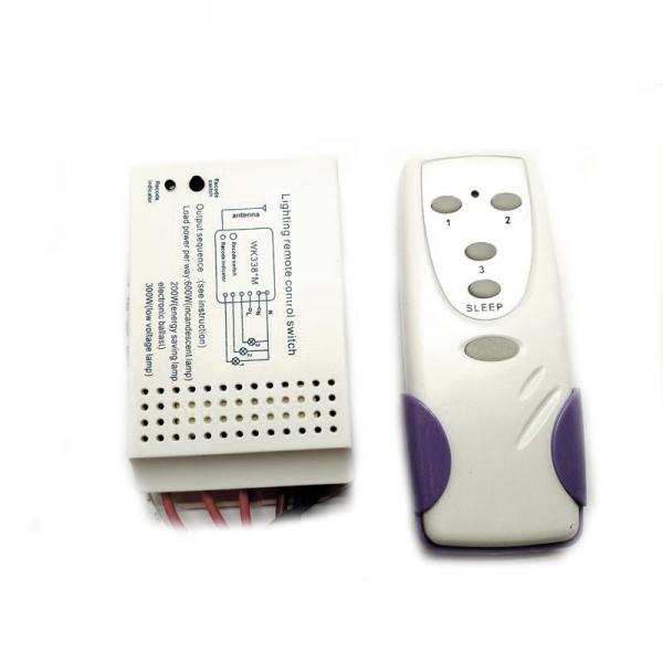 Беспроводной комплект управления освещением 12В/220В диапазона 433 МГц (3 канала по 2 кВт)