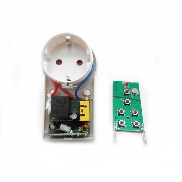 Беспроводная розетка диапазона 433 МГц (1 розетка 2 кВт).