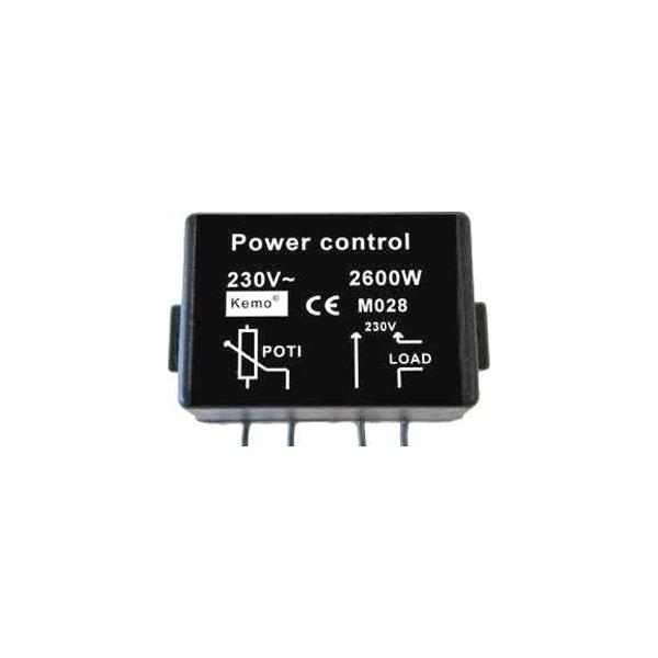 Регулятор мощности 2600Вт (11,8А)/ 220В (в корпусе)