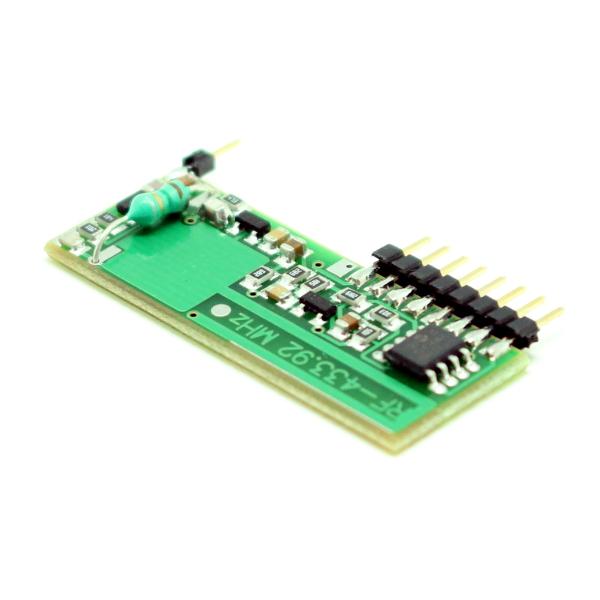 Программируемый приемник 4-х канального дистанционного управления 433 МГц