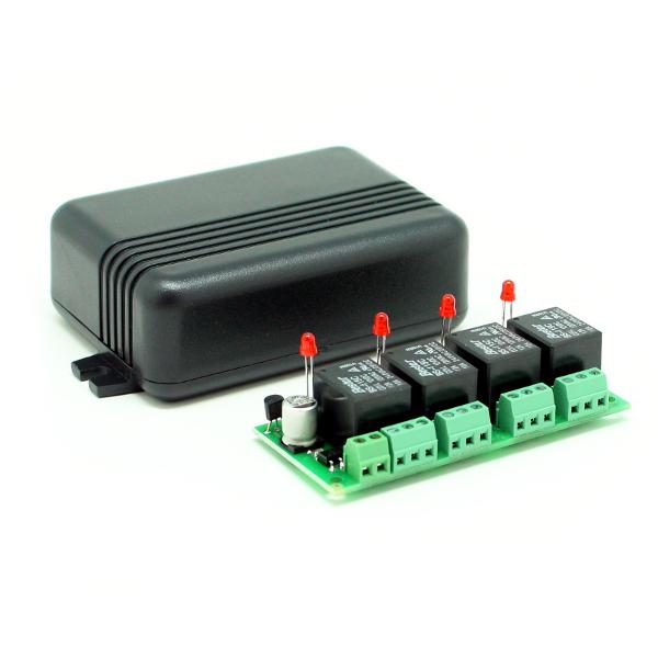 Исполнительное устройство для MK324 (4 независимых реле по 2 кВт 10А)