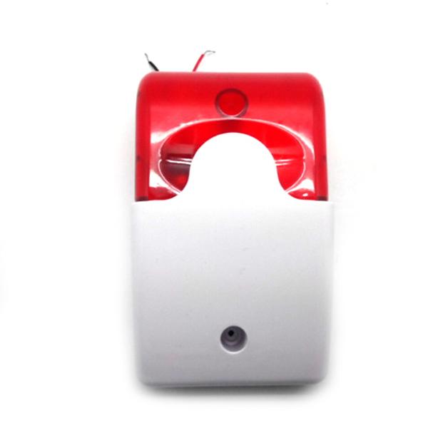 Светозвуковая сирена со стробоскопической вспышкой, для систем оповещения и сигнализации.