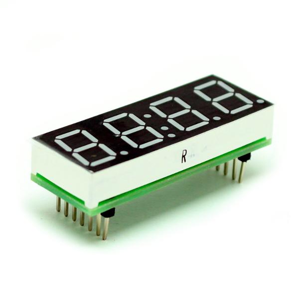 Модуль-расширение для Arduino: cемисегментный, четырехразрядный светодиодный индикатор