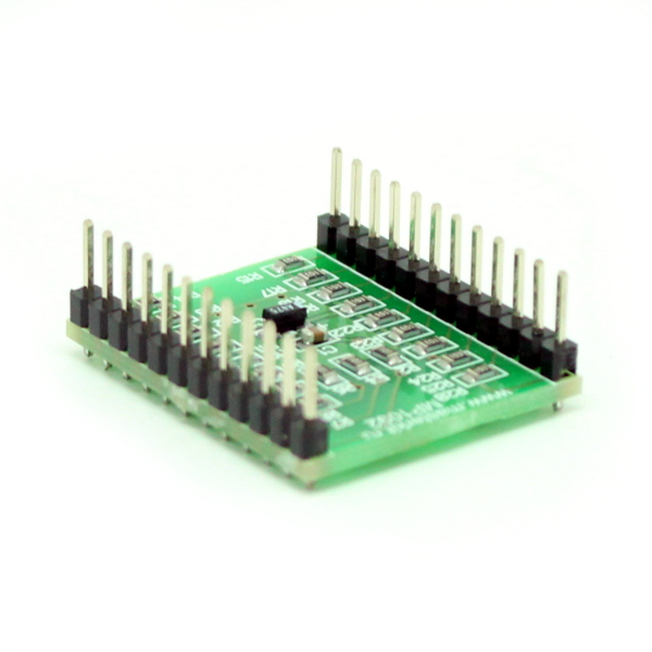 Модуль-расширение для Arduino: плата расширения вводов/выводов (16 разрядов) и светодиодный диммер