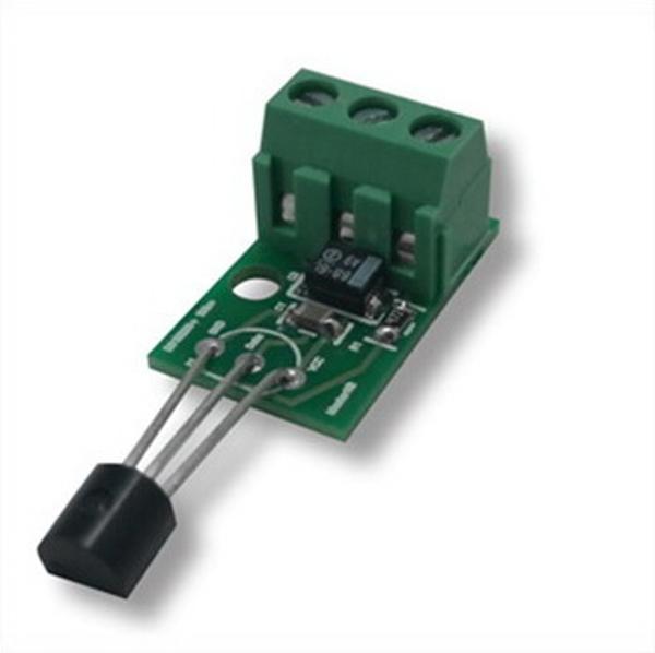Мастер Кит Модуль цифрового термодатчика DS18B20+, удаленное подключение