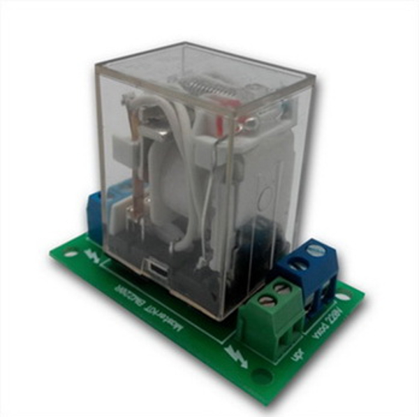 Силовое реле расширения, для управления электроприборами мощностью до 4 кВт (20А).