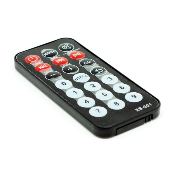Встраиваемый USB-MP3 / WMA плеер с пультом ДУ и ЖК дисплеем