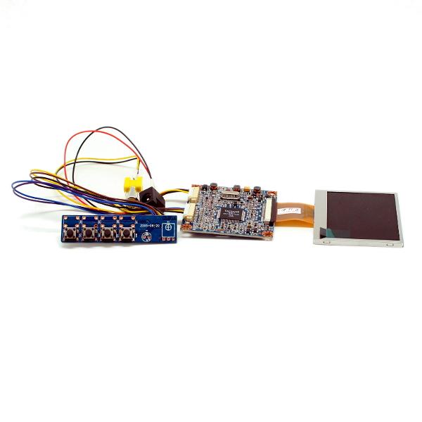 Цветной 2,5' TFT-LCD модуль разрешением 320 x 240 с видеоконтроллером