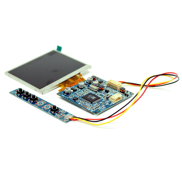 Цветной 3.5' TFT-LCD модуль разрешением 320 x 240 с видеоконтроллером.