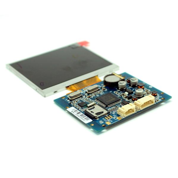 Цветной 3.5' TFT-LCD дисплей с видеоконтроллером, разрешение 640x480