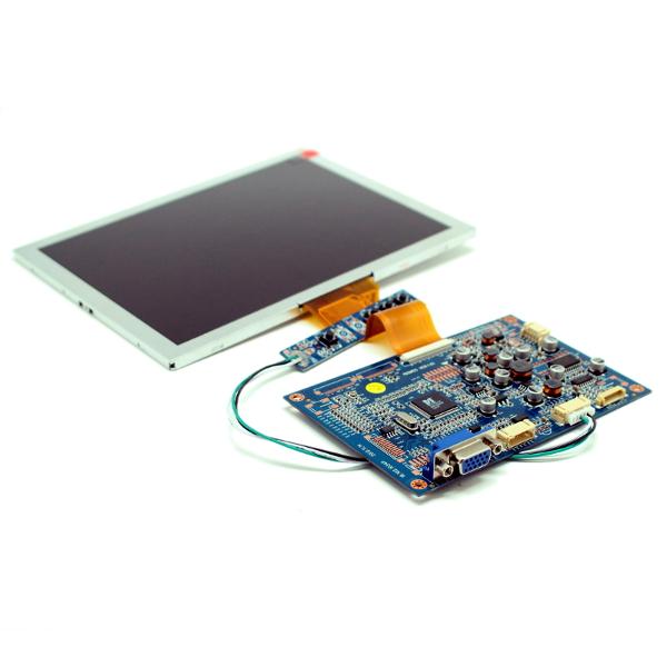 Цветной 8' TFT-LCD модуль разрешением 800 x 600 с VGA входом.
