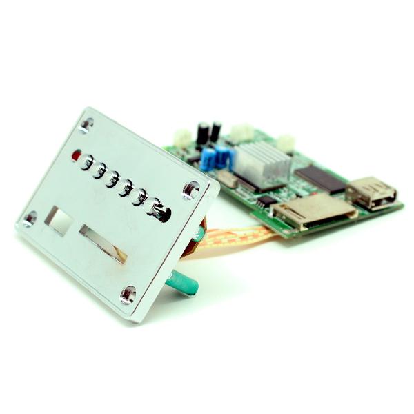Мини плеер: видео/аудио; USB / SD; MP3 / WMA / JPG / MP4; пульт ДУ