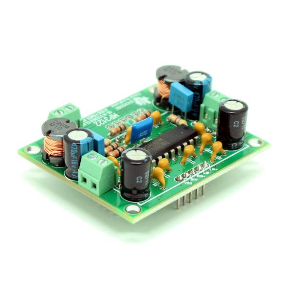 Цифровой усилитель D-класса мощностью 2 x 15 Вт.