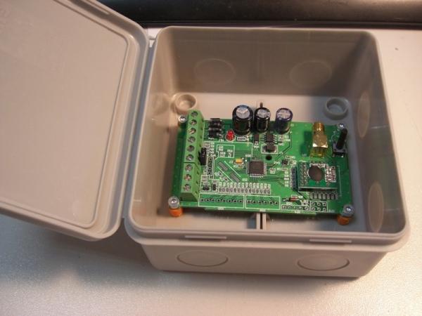8 канальный передатчик для дистанционного телеуправления (кнопка)