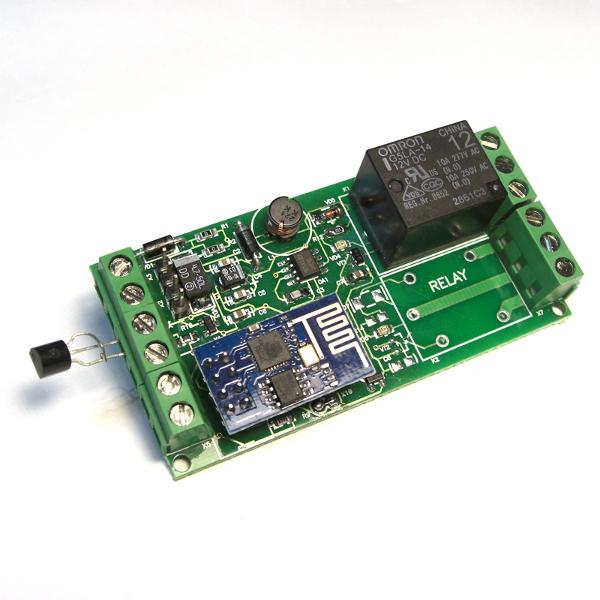 Термостат с WiFi управлением на базе ESP8266