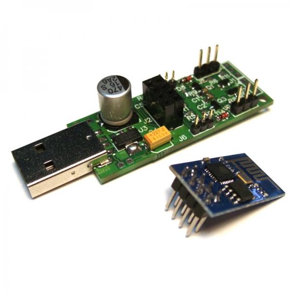 Универсальная плата для Интернета вещей на базе WiFi-чипа ESP8266EX-01