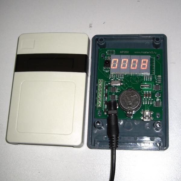 Универсальные часы реального времени (RTC) c управлением нагрузками по 4 каналам