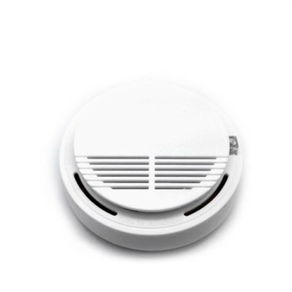 Извещатель дымовой с радиомодулем диапазона 433 МГц до 100 метров.