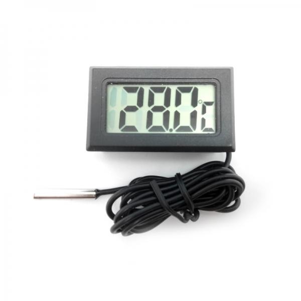 Встраиваемый цифровой термометр с выносным датчиком