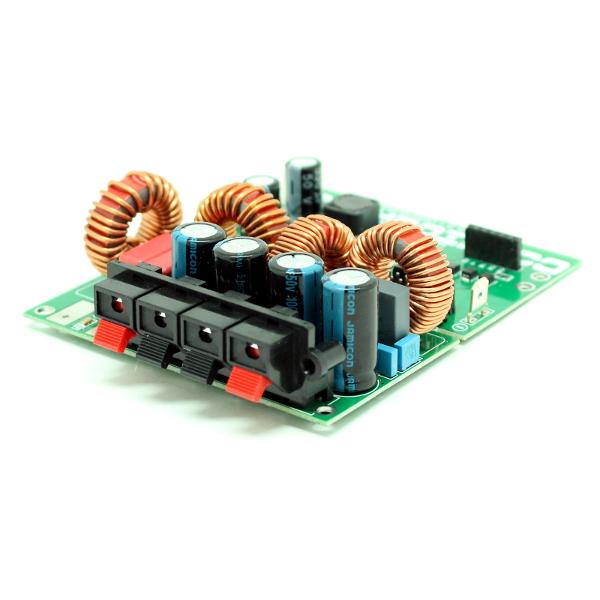 Конфигуратор для построения мощного трёхканального (2.1) усилителя НЧ