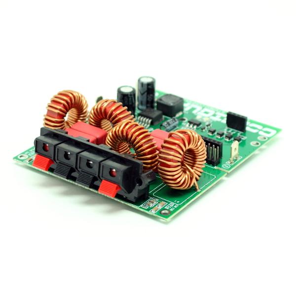 Конфигуратор для построения мощного двухканального усилителя НЧ