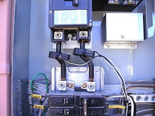 Бесконтактный датчик тока 30А