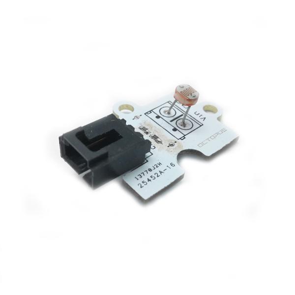 Аналоговый датчик освещенности (фоторезистор)