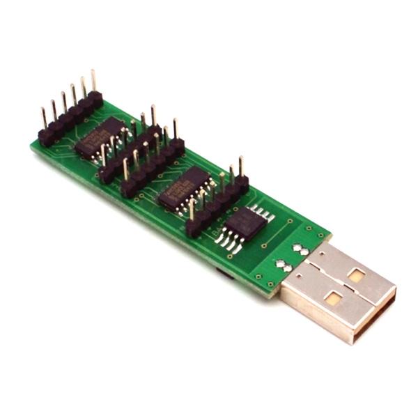 USB модуль для управления 16-ю нагрузками через интернет (Windows)