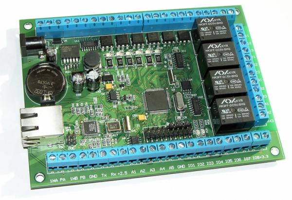 Многофункциональное интернет реле (cетевой контроллер управления)