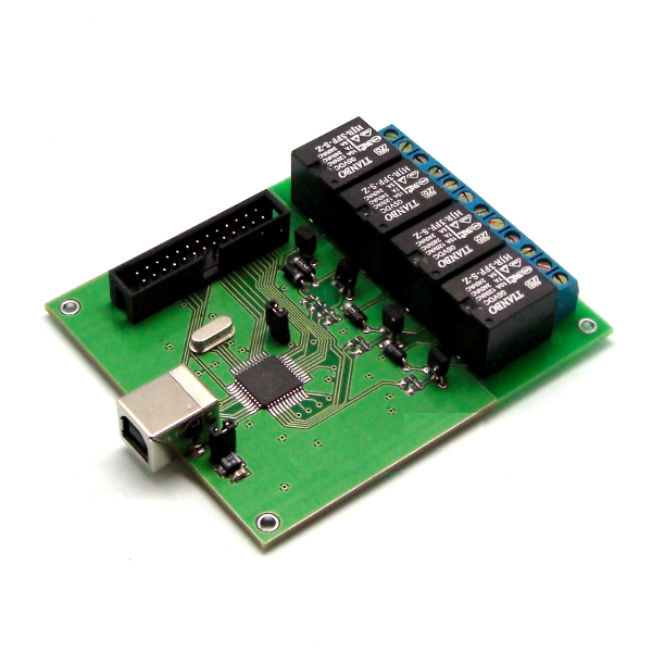 Реле управления нагрузкой и контроля через USB