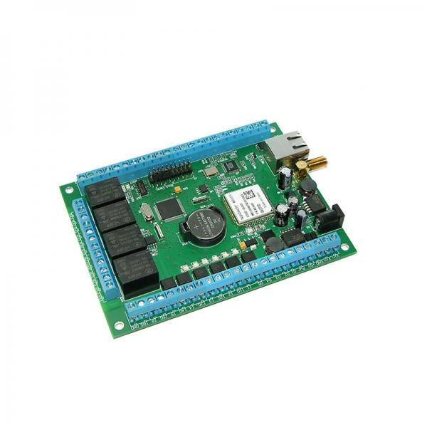 Многофункциональный сетевой контроллер управления c GSM функционалом ( Ethernet реле + GSM)