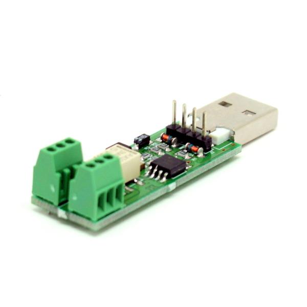 USB реле для управления нагрузкой по интернету (работает под OC Linux)